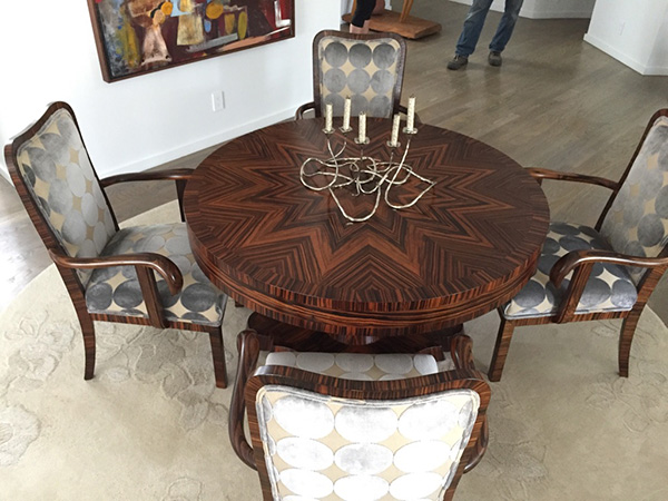 Rosewood Dining Table Set Remarkable Refinishing